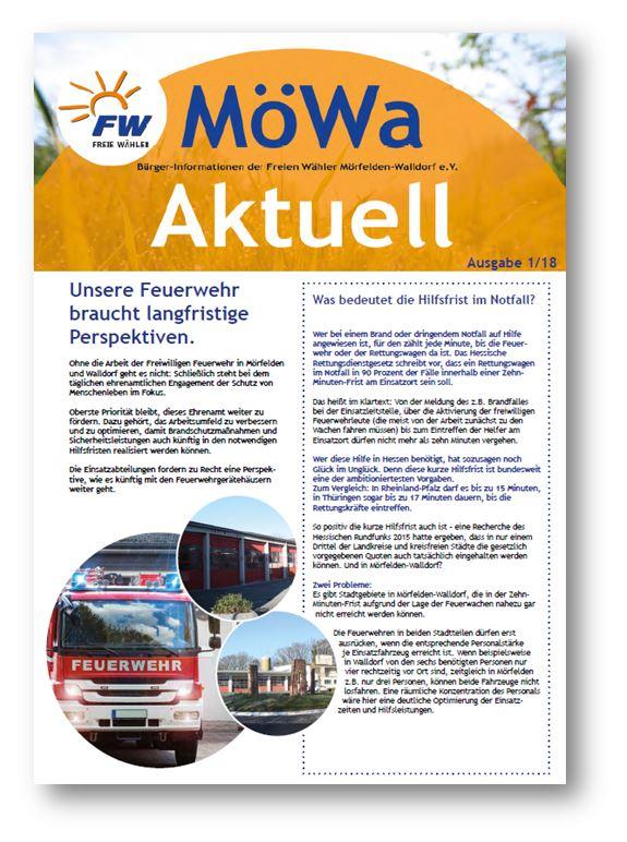 MöWa Aktuell - Ausgabe 1/2018